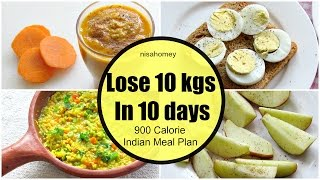getlinkyoutube.com-How To Lose Weight Fast 10 kgs in 10 Days  - Full Day Indian Diet/Meal Plan For Weight Loss