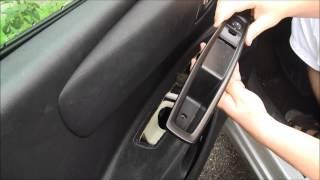 getlinkyoutube.com-Démonter / remonter la palette de commandes de lève-vitre d'une Citroën C4