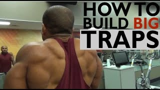 getlinkyoutube.com-HOW TO BUILD BIG TRAPS: 3 MUST DO EXERCISES