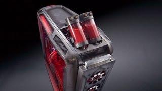 "getlinkyoutube.com-""Rebel A"" Case Mod Part 5, FINAL: Cooler Master Cosmos II PC by Mnpctech.com"