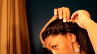 getlinkyoutube.com-protective style 5 for relaxed natural or transitioning hair