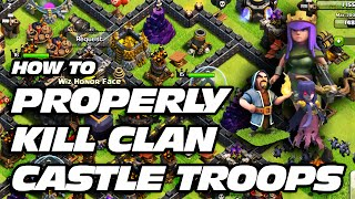 getlinkyoutube.com-Clash of Clans: How to Lure & Easily Kill Clan Castle Troops