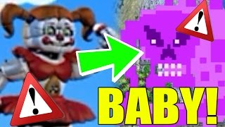 getlinkyoutube.com-Five Nights at Freddy's World: Sister Location - BABY'S SAVES FNAF? ★Fazbear World★