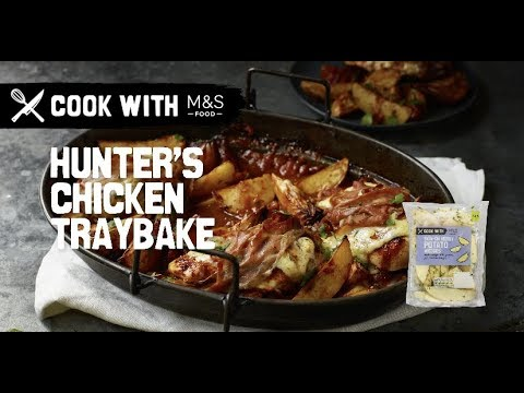 M&S | Cook With M&S... Hunter's chicken with herby potato wedges