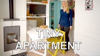 getlinkyoutube.com-Tiny Studio Apartment | With Wall Bed and Green Garden (250 sq.ft.)