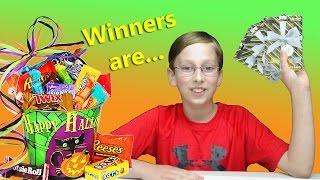 getlinkyoutube.com-HALLOWEEN GIVEAWAY WINNERS | COLLINTV