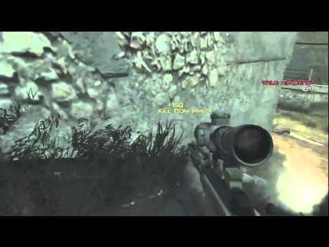MW3: Sweet Jumping No Scope Sniper Triple   Modern Warfare 3
