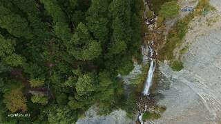 Waterfalls  Artas prefecture - Amazing Flight