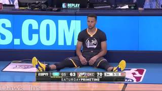 getlinkyoutube.com-Stephen Curry 46 points @ OKC (Full Highlights) (02/27/16) UNREAL CLUTCH! ᴴᴰ