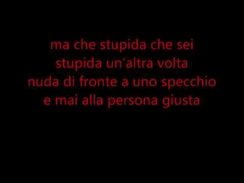 Alessandra Amoroso-Stupida con testo