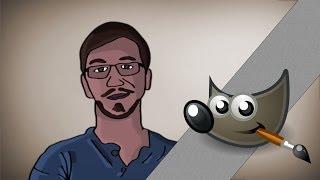 getlinkyoutube.com-Jak narysować twarz? Gimp poradnik