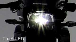 getlinkyoutube.com-ZRX DAEG Truck LED スクエアタイプヘッドライト参考動画