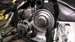 getlinkyoutube.com-Skidoo Rev 800 secondary clutch cleaning Episode 3