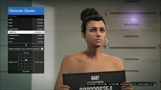 getlinkyoutube.com-GTA5 Online : How To Make A Hot Girl Character | Updated Female Character Creation