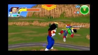 getlinkyoutube.com-Vegetto SSJ4 *Con aureola *[Gameplay] Dragon Ball z Tenkaichi Tag Team Mod