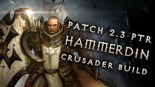 getlinkyoutube.com-2.3 Crusader Hammerdin Build - Diablo 3 Reaper of Souls PTR