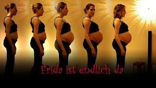 getlinkyoutube.com-Frida ist endlich da - Babybauch im Zeitraffer (www.pleinfilm.de)
