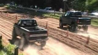 getlinkyoutube.com-Subaru WRX Takes on 4x4 Trucks at Good Times 4x4's Sand Drags Part 1