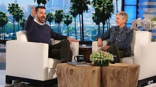 getlinkyoutube.com-Jimmy Kimmel Talks Retirement Rumors and Matt Damon Feud