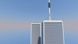 World Trade Center Minecraft 1:1 (Twin Towers)