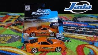 getlinkyoutube.com-Fast and Furious Brian's Toyota Supra - Jada Toys 1/32 Unboxing