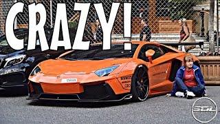 getlinkyoutube.com-Arab LIBERTY WALK Lamborghini Aventador in Monaco!