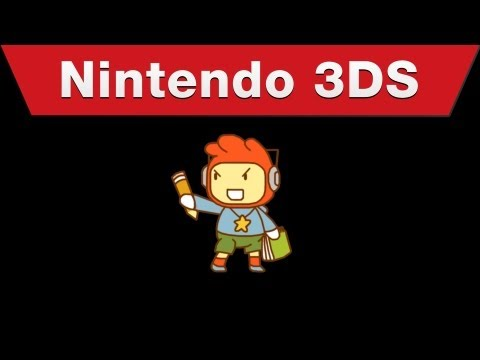Nintendo 3DS - Warner Bros - Scribblenauts Unlimited E3 Trailer