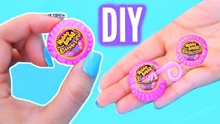 getlinkyoutube.com-DIY Mini Bubble Gum | Real Gum Inside! World's Smallest Hubba Bubba Tape!