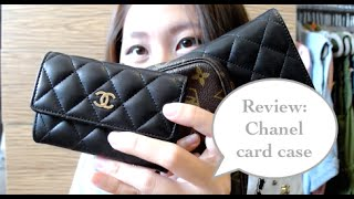 Review: Chanel card case as a wallet