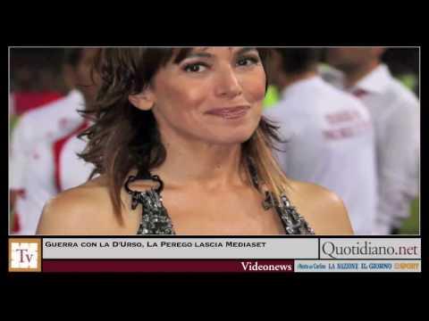 Guerra con la D'Urso, La Perego lascia Mediaset