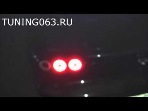 Задние фонари Mazda RX7 '92-02 светодиодные, черные