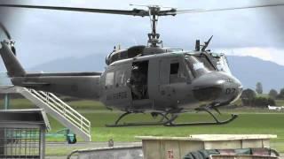 getlinkyoutube.com-RNZAF UH-1H NZ3807 + NZ3808 STARTUP