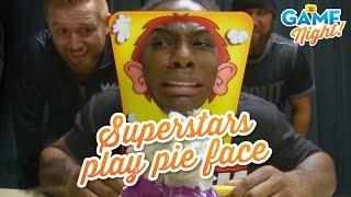 getlinkyoutube.com-WWE Superstars play Pie Face: WWE Game Night