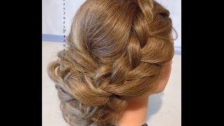 getlinkyoutube.com-Fryzury Pazury - Upięcie z prostych włosów