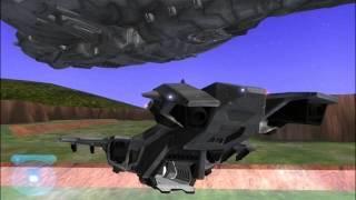 getlinkyoutube.com-Halo Reach Pelican Revised (Halo CE Wars)