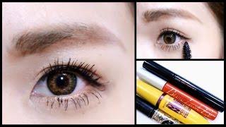 getlinkyoutube.com-【My Mascara Routine】ビューラーの使い方とマスカラの塗り方 おすすめマスカラ紹介