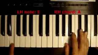 How to play Shout To The Lord on piano