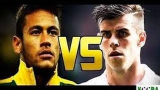 نيمار vs غاريث بيل ● افضل المهارات والاهداف 2014 2015 Neymar vs Greth Bale
