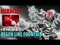 MIRACLE Storm Spirit - 34 Bloodstones + Hex + Linken Regen Mana like Fountain Pro Gameplay Dota2