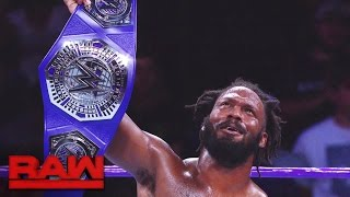 A look back at Rich Swann's WWE Cruiserweight Title victory: Raw, Dec. 5, 2016 width=