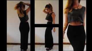 getlinkyoutube.com-Lookbook: Crop Tops and Maxi Skirts | Spike and Thorn