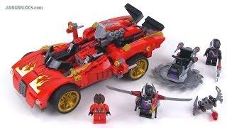 getlinkyoutube.com-LEGO Ninjago 70727 X-1 Ninja Charger review! Summer 2014