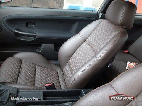 Перетяжка салона BMW e36 coupe Минск