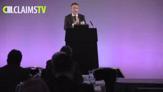 David Bott, Bott & Co, speaks at The Claims Conference 2015