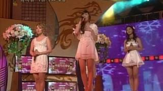 SNSD - Baby Baby , Kissing You & GG 3/3 08 Seoul Music Awards Jan31.2008 GIRLS' GENERATION Live