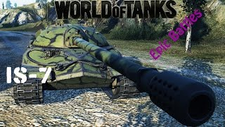 getlinkyoutube.com-WOT EPIC BATTLE - IS-7 10K DMG HEARTBRAKE GAME