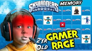 getlinkyoutube.com-2 Year Old GAMER RAGE! Chase Plays Skylanders Memory Match (Mega Bloks Online Fun Activities)