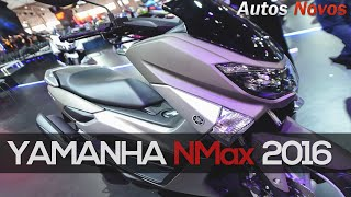 getlinkyoutube.com-Yamaha NMax 2016 detalhes