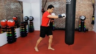 getlinkyoutube.com-How to Do the 3 Best Combos | Kickboxing Lessons