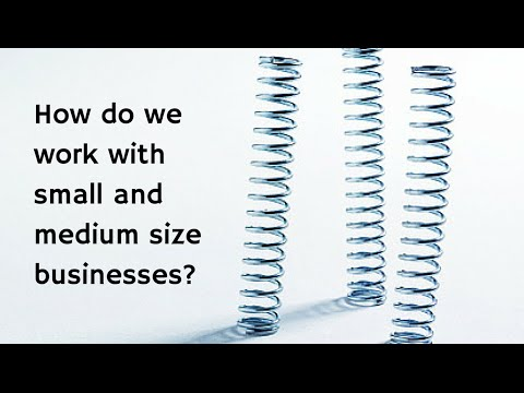 What is your experience working with small and medium sized businesses?